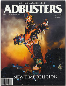 Cover of Adbusters Magazine #7