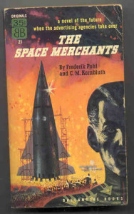 Book cover of Pohl and Kornbluth's Space Merchants