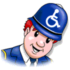 The Bobby accessiblity tool icon